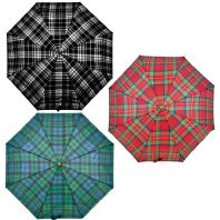 Drizzles Tartan Supermini Umbrella - Assorted Tartans